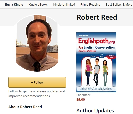 Amazon author Robert Reed the writer