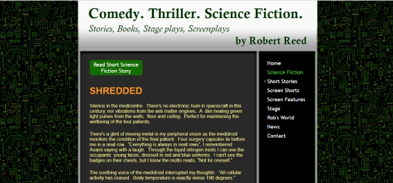 Robert Reed Science Fiction